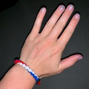 Lokai Jewelry - Red, White, & Blue Lokai Bracelet
